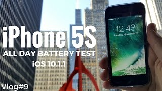 iPhone 5S All Day Battery Test [VLOG#9]