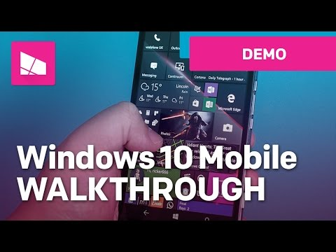 Windows 10 Mobile Anniversary Update - Official Release Demo