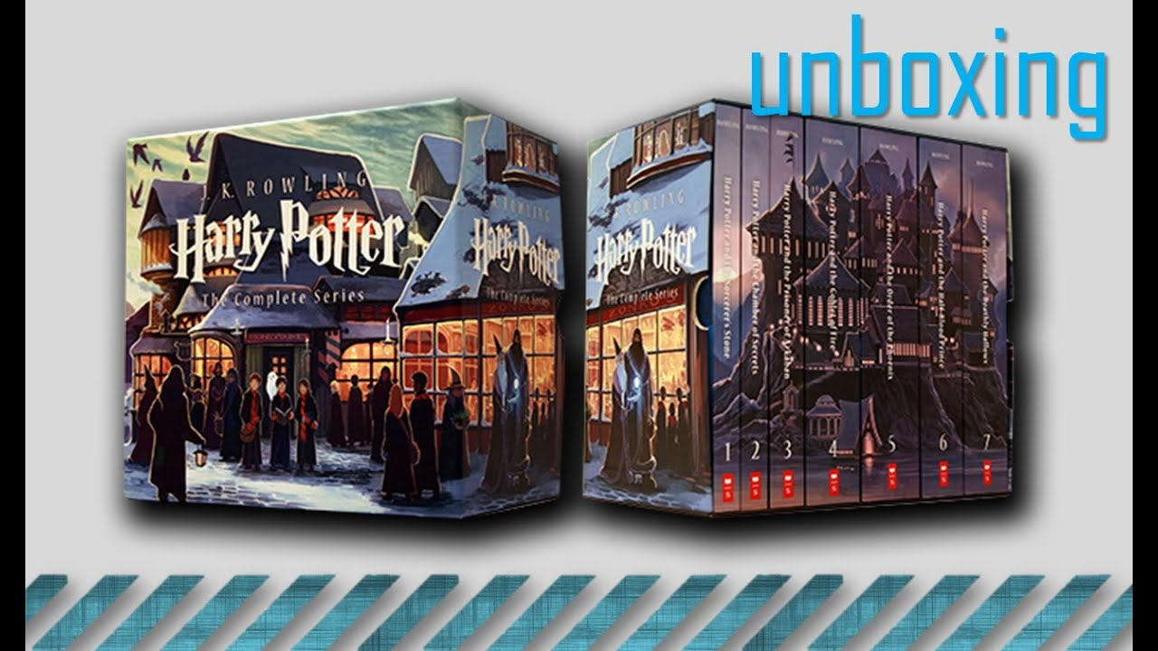 unboxing | Harry Potter Box Set Special Edition - YouTube
