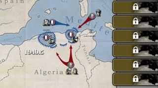 【将軍の栄光】北アフリカ戦線(枢軸)マンネルハイム線