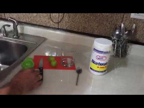 Bicarbonato con limon - YouTube