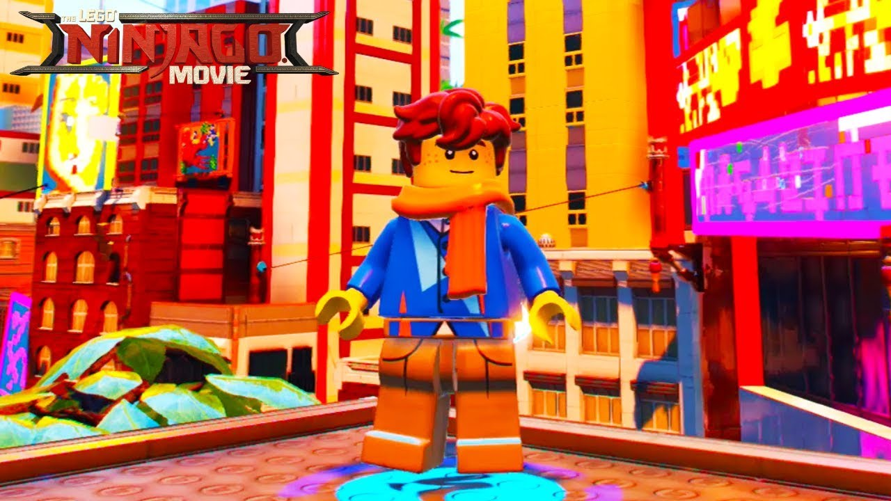 The Lego Ninjago Movie Video Game Jay High School Unlock Location