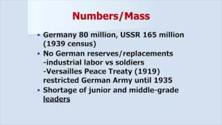 Why Germany Lost: The Three Alibis  (WW2HRT 27-06)