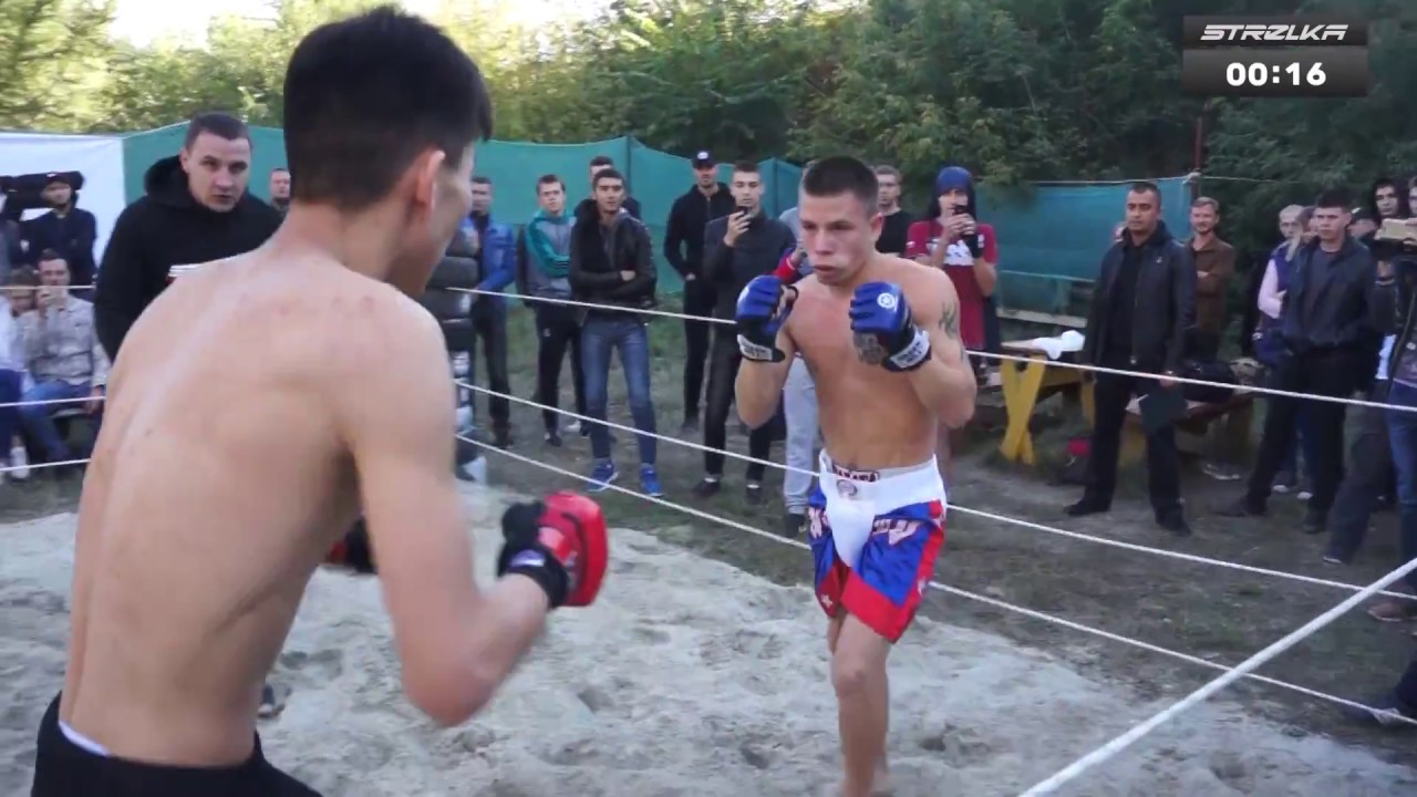 Russian Tiger vs MMA fighter !!! Good Fight !!