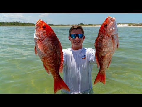 offshore-to-beach!-catch-clean-cook--red-snapper-(panama-city,-florida)