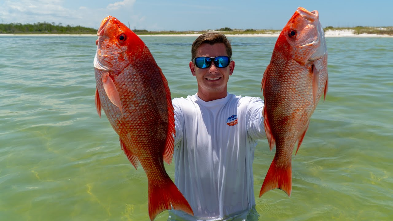 Offshore to Beach! Catch Clean Cook- Red Snapper (Panama City, Florida)