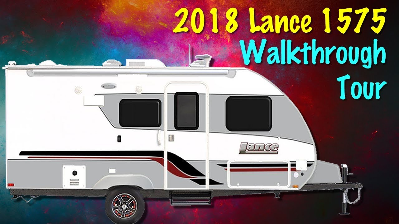 princess craft rv 2018 lance 1575 travel trailer walkthrough with princess 2755