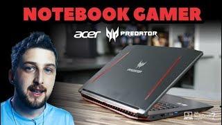 Notebook Acer Predator Helios 300 Gamer G3-572-75L9 com GTX 1060 em 2018