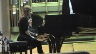 """me playing Beethoven Concert Nr 1 Part II """"LARGO"""" with Andreea Cristea"""