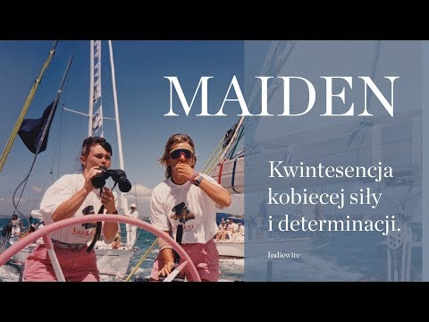 Maiden (2018) zwiastun PL, film dostępny naVOD