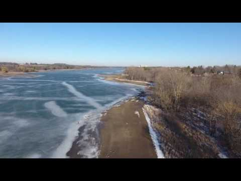 Pittock Dam Drone Flying