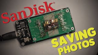 Recovering data from sandisk memory card