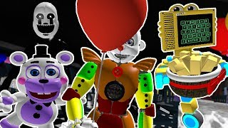 How To Get Secret Characters HandUnit Helpy Circus Ennard Nightmarrione in Roblox Circus Baby's RP