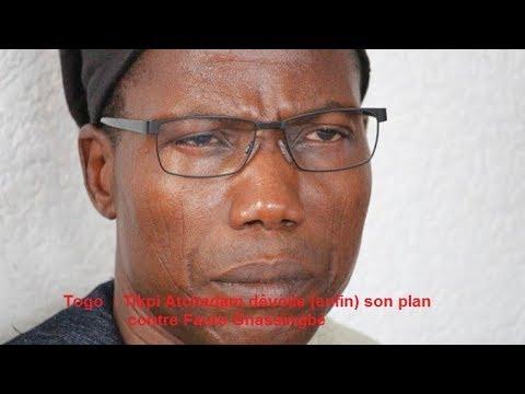 Tikpi Atchadam dévoile enfin son plan contre Faure Gnassingbé