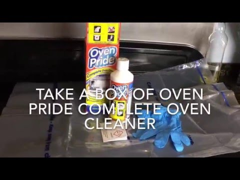 Oven Pride Complete Oven Cleaner Review