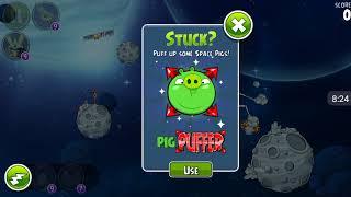 Прохождение Angry Birds Space #13 [Планета Beak Impact 1]{полностью}