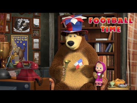 Masha and The Bear - Football Time