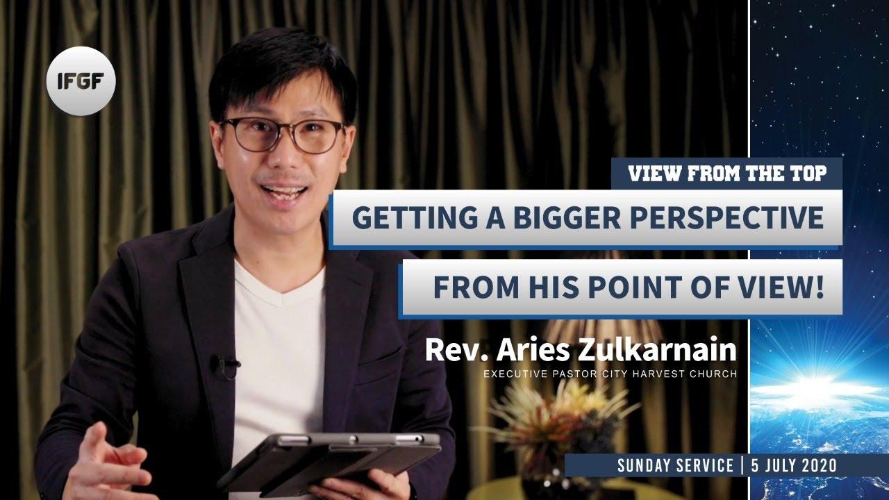 """IFGF Bandung Sunday Service with Rev. Aries Zulkarnain, """"A Bigger Perspective""""   05 July 2020"""