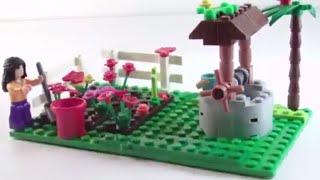 Обзор - распаковка игрушек Конструктор Ферма Арт: 6004