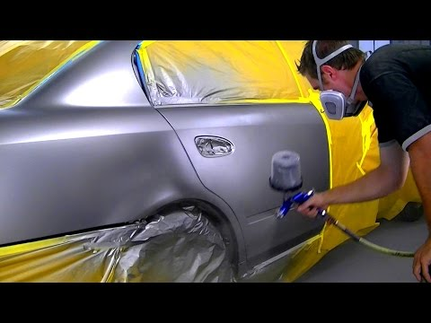 How To Blend Metallic Car Paint