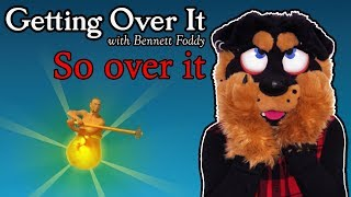 SO OVER IT | Getting Over It - pt 7 | Fursuit Lets Play
