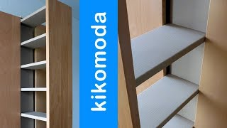 DIY Cardboard Pull Out Cabinet HD (corrugated cardboard furniture)