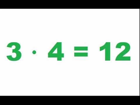 Таблица умножения на 3  видео урок по математике