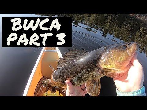 Boundary Waters Fishing: Walleye Paradise - Part 3 -