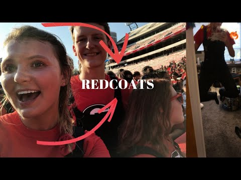 Day in the life of a Redcoat (UGA Marching Band & Homecoming Game)