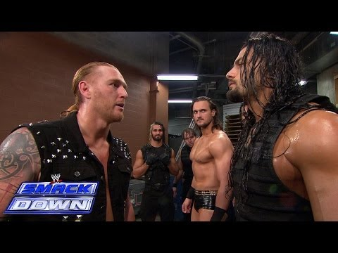 The Shield lays out 3MB backstage: SmackDown, April 25, 2014
