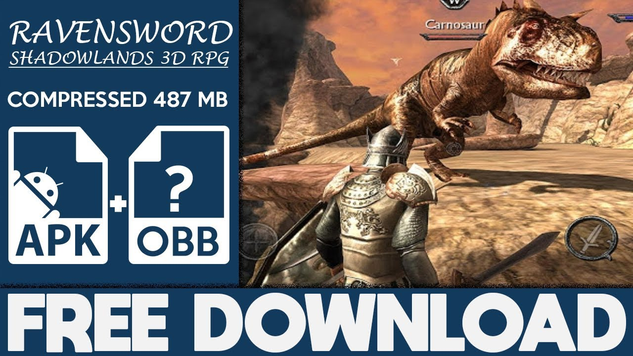 How To Download Ravensword: Shadowlands Apk OBB Free Full Game 2019  #Smartphone #Android