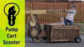 Crazy Homemade Vehicle!