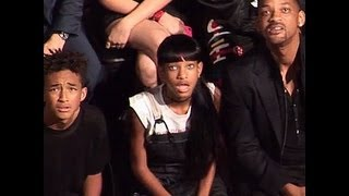 Repeat youtube video WATCH: Will Smith and Family React to Miley Cyrus at MTV Music Awards 2013