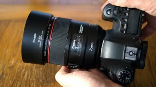 Canon EF 85mm f/1.4 IS USM 'L' lens review with samples (Full-frame & APS-C)