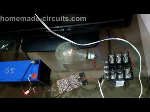 Witnessing Free Energy from an Inverter Setup (Overunity)