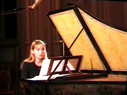 Elena Zhukova. J.S.Bach French Suite G-dur Gigue