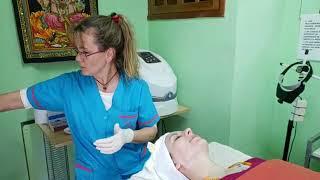 Tratamiento facial en espacio jav so