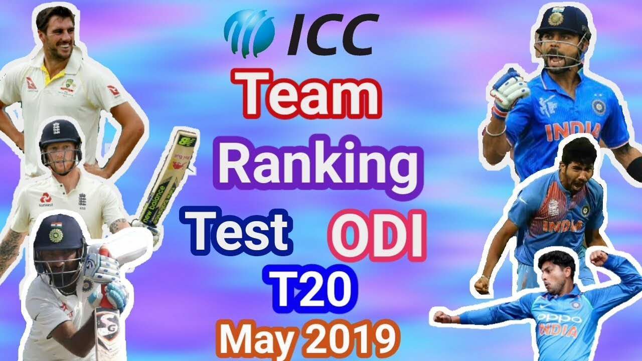 ICC Ranking TOP 10 Teams, Top 05 Ranking Players ICC World Cup 2019/ CRicket DHAMAAL