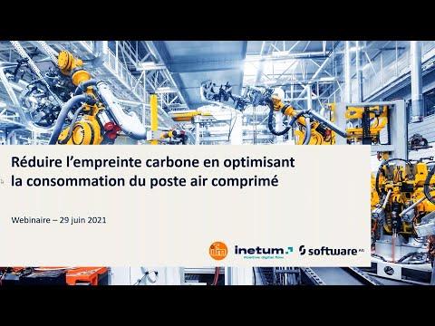 Réduire l'empreinte carbone en optimisant la consommation du poste air comprimé, avec ifm et Inetum