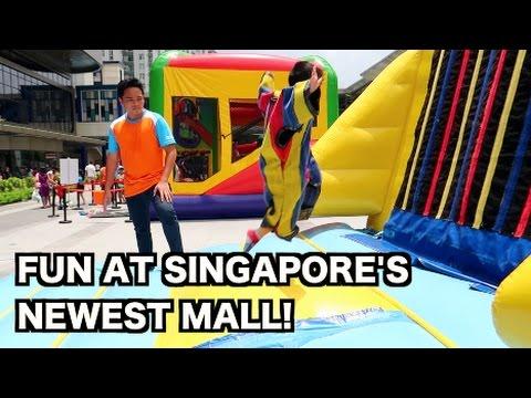 FUN AT SINGAPORE'S NEWEST MALL (HILLION MALL) | EP:40