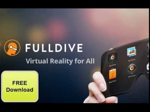 e13f7739d5d9 Fulldive VR Virtual Reality Free Download Instantly - YouTube