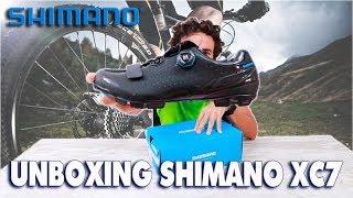 UNBOXING SHIMANO XC7 PARA BTT .