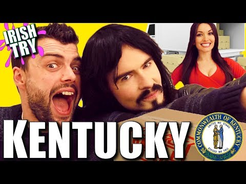 Irish People UnBoxing 'KENTUCKY' - Craft Beers & Whiskeys!!