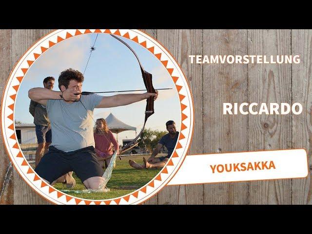 Youksakka Teamvorstellung Riccardo