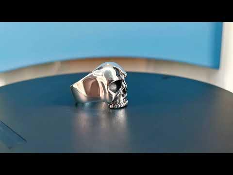 Keith Richards Skull Ring | MENS STERLING SILVER RING | Buy KEITH RICHARDS' SKULL RING Online |