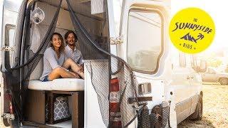 NYC TINY HOUSE & OVERLANDER mit ENDLOSDUSCHE | Sprinter Camper ROOMTOUR