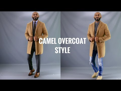 How To Wear A Men's Camel OverCoat/How To Style A Men's Camel TopCoat