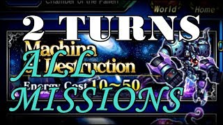 FFBE | 2B Bug VS Aigaion 2-Turn OBAMA [No commentary]
