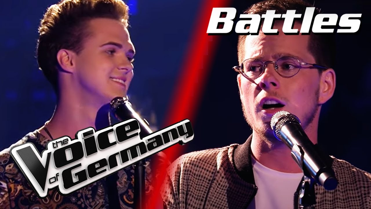 Simon & Garfunkel - Bridge Over Troubled Water (Vojtech vs. George) | The Voice of Germany | Battles
