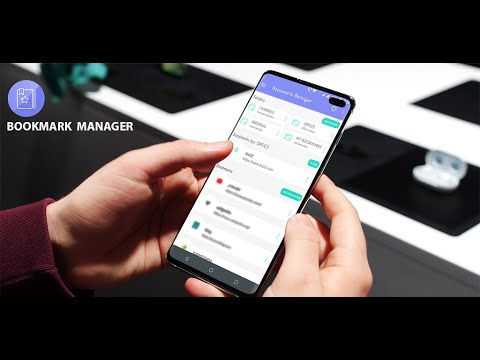 Bookmark Manager app for Android